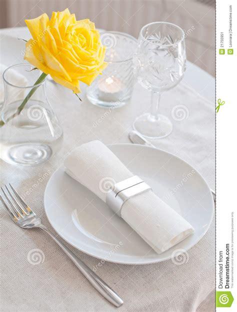 fancy dinner table set stock image image 10392131 elegant dining table setting stock image cartoondealer