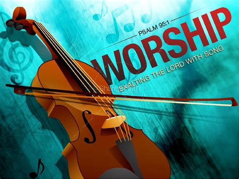 Violin Worship Powerpoint Powerpoint Sermons Praise And Worship Ppt