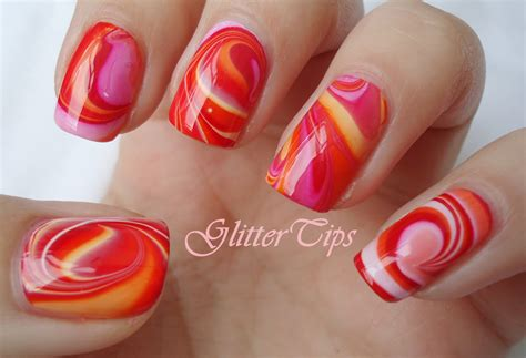 rio nail art tutorial glitter tips rio beauty marble nail art polish london