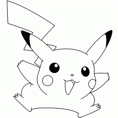 pokemon coloring pages of pikachu pokemon coloring pokemon picture pikachu jumping