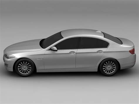 Bmw 5 Series Models by 2010 Bmw 5 Series 3d Model Flatpyramid