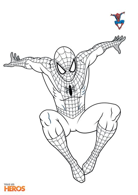 golden spiderman coloring page coloriez spiderman le superh 233 ros pr 233 f 233 r 233 des adolescents