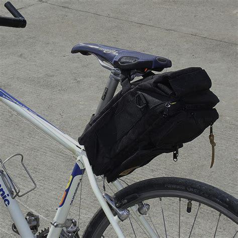 Tas Sepeda Touring Bagasi Pannier Trunk Bag Bandung 1502 Hitam cfd bike bags ver 1 4 color blue grey
