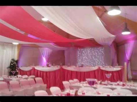 mariage theme fushia, decorations salles mariage, salles