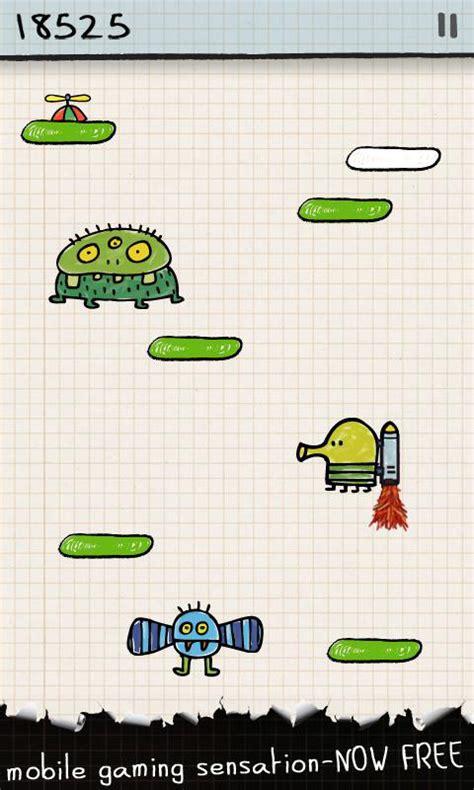 doodle jump s60v5 دانلود بازی مسابقه ای دودل جامپ برای اندروید doodle jump 3