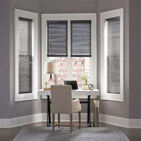 Home Decorators Faux Wood Blinds by Custom Window Treatments The Home Depot