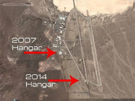 51 best images about how satellite photos reveal new hangars being built at area 51