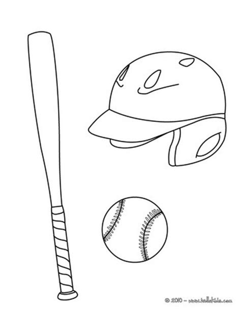 baseball birthday coloring pages baseball equipment coloring pages hellokids com
