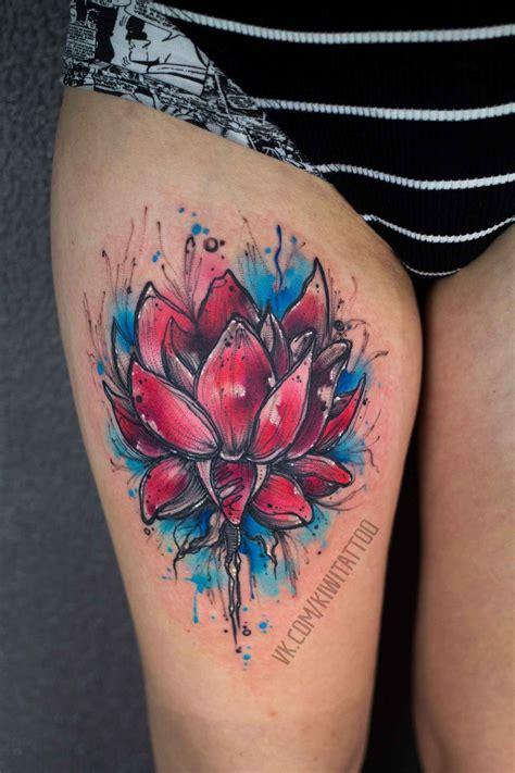 watercolor tattoo victoria artist kiwi grigorieva moscow russia