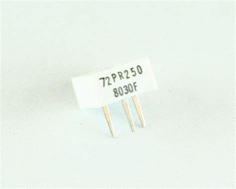 beckman resistor pack 72pr 250 beckman potentiometer 250 ohm trimpot 2022003767