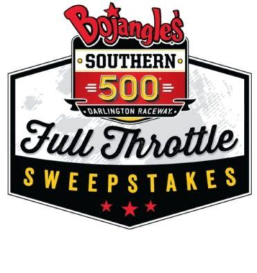 Bojangles Southern 500 Sweepstakes - the race is on for the bojangles 174 southern 500 full throttle sweepstakes