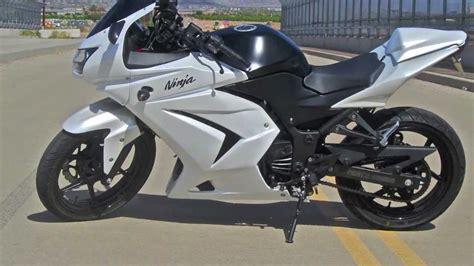 White Kawasaki by Kawasaki 250r White Www Imgkid The Image Kid