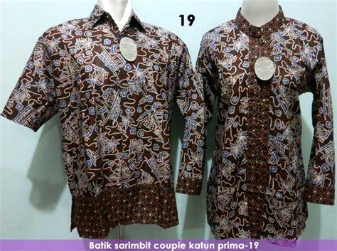 Sarimbit Batik Keren Kemeja Murah Wanita Pria Pasangan Blus Seragam toko batik harga murah grosir batik pekalongan termurah baju batik pria dan wanita