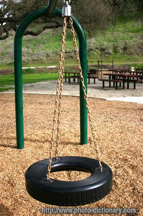 swinging means swing photo picture definition at photo dictionary