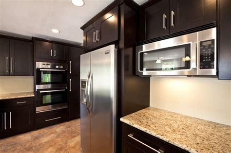 Espresso Kitchen Cabinets With Granite by Discover And Save Creative Ideas