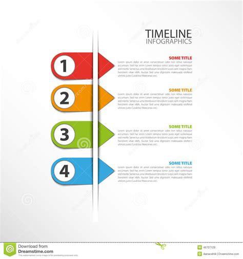 Timeline Template Stock Vector Illustration Of Boxes 46707129 Timeline Design Template