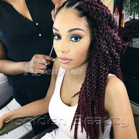 best products to use when doing box braids free shipping 3d cubic twist crochet braids hair
