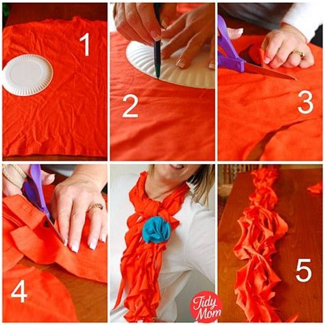 Handmade Cloths - handmade clothes scarf diy projects usefuldiy