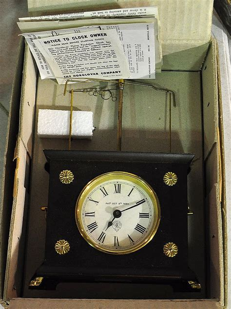 horolovar flying pendulum clock horolovar flying pendulum clock