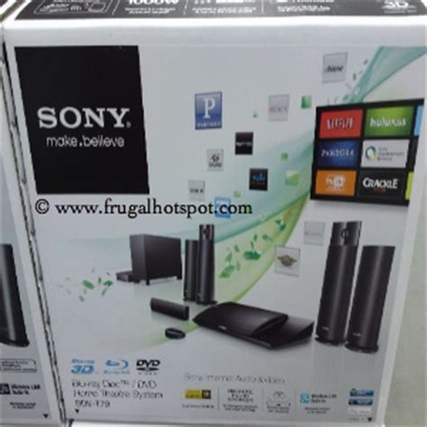 costco clearance sony  blu ray home theatre system bdv