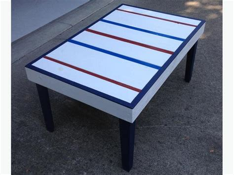 hockey stick coffee table custom made hockey stick coffee table outside nanaimo