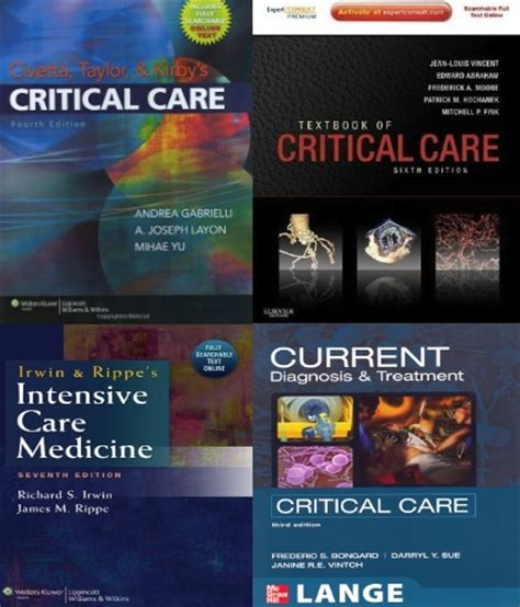 irwin and rippe s intensive care medicine books icu education resources