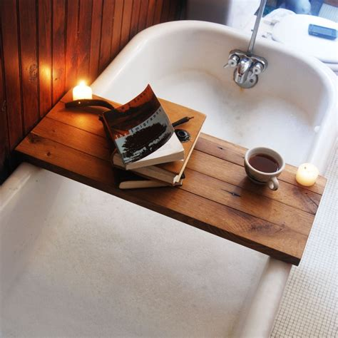how to make a bathtub diy bathtub tray designs fun to make and great to use