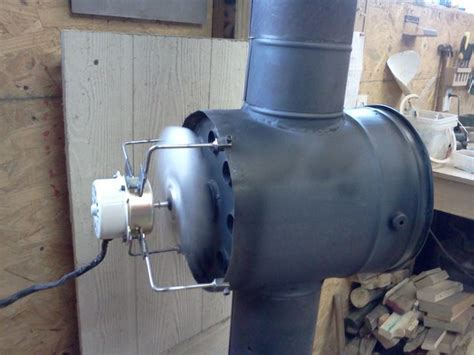 fans to circulate heat woodstove heat exchanger all