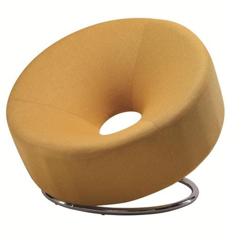 Donut Chair by Coaster Accent Seating Donut Shaped Accent Chair