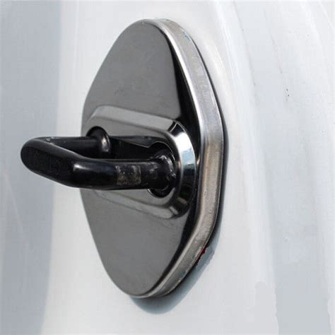 How To Stop Rust On Car Door by Stainless Car Door Stop Rust Protector Cover 4pcs For
