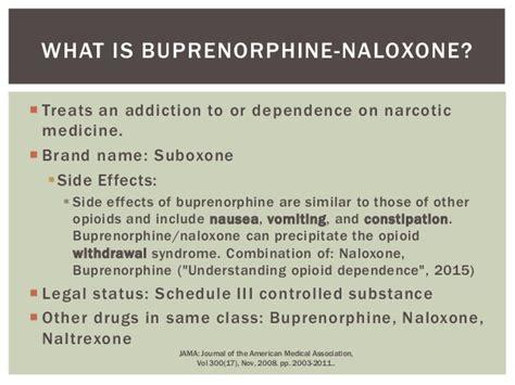 Subutex Detox Schedule by 2015 Suboxone Treatment Presentation