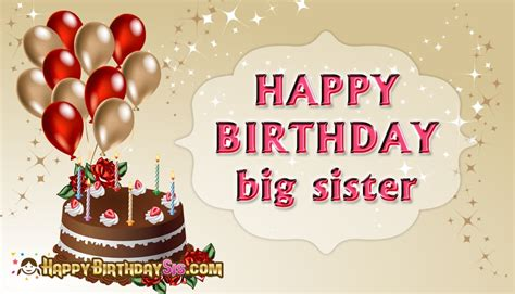 Big Birthday Quotes Happy Birthday Big Sister Quotes Www Imgkid Com The
