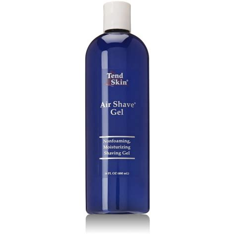 tend skin tend skin air shave gel 16 oz by tend skin dubai