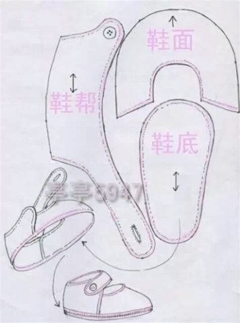 baby shoe pattern for fondant