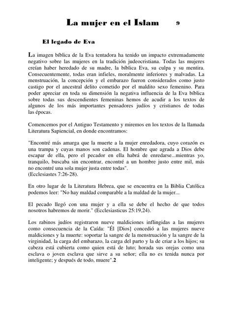 La Mujer En El Islam Y En El Judeocristianismo _ Spanish