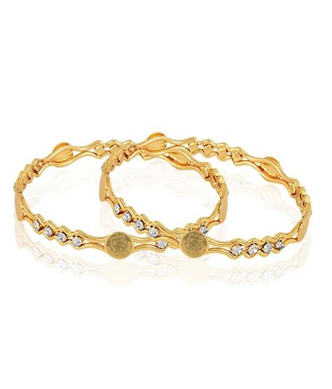 pattern of gold bangles jewels galaxy ginni pattern gold plated bangles buy