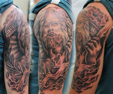 zeus tattoo pictures zeus tattoo art google search hellenic tattoo