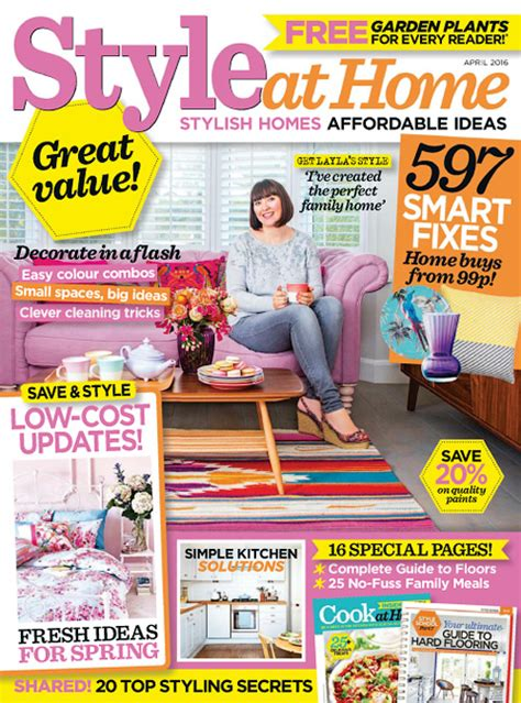 home design uk magazine style at home magazine uk home design and style