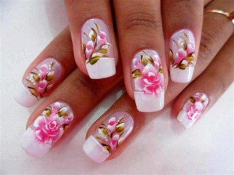 imagenes de uñas decoradas alto relieve unhas decoradas com flores fotos pequena mila