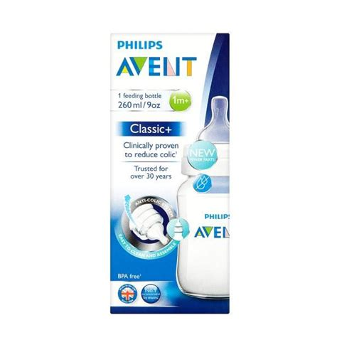 Philips Avent Bottle 260ml philips avent classic feeding bottle 260ml bpa free milk