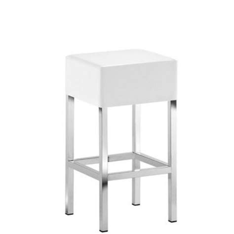 Upholstered Cube Stools by Cube 1402 Metal Pedrali Stool H 65 Upholstered And