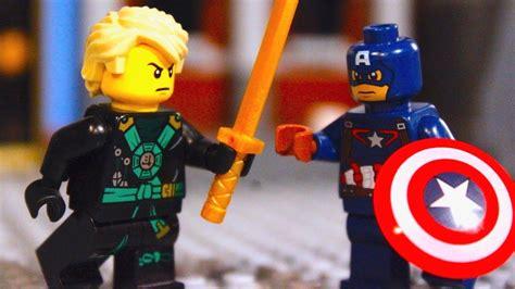Lego Ninjago Vs lego ninjago lloyd garmadon vs captain america versus