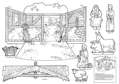 imagenes del nacimiento de jesus para pintar recortables de navidad nacimiento de jes 250 s dibujos