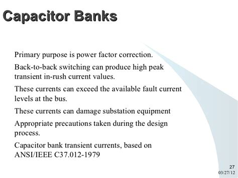 power factor correction fault link
