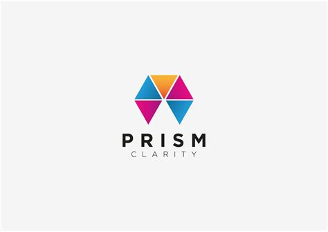 brand logo design ambition creative branding and web design prism clarity