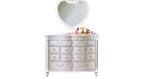 disney princess dresser set disney princess white 8 drawer dresser heart mirror set
