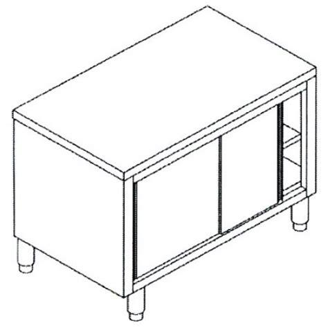 tavolo acciaio inox prezzi tavoli inox in acciaio inox aisi 304 armadiati con ante