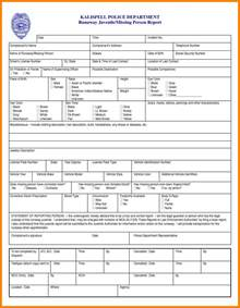 person report template 5 homicide report template monthly budget forms