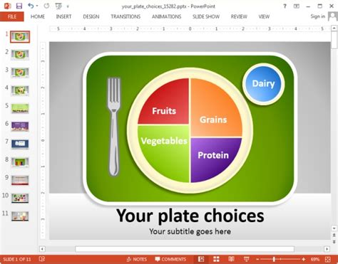 templates powerpoint nutrition animated nutrition powerpoint templates