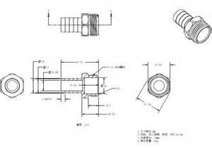 Garden Hose Thread Dimensions 3 4 Nhr Thread Brass Npt Fitting Garden Hose Water Pipe